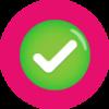 icon check dark pink 2